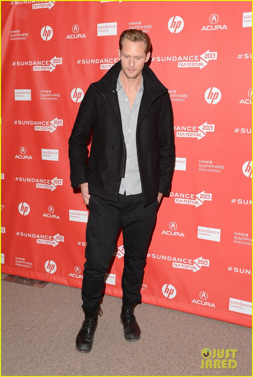alexander skarsgard brit marling the east sundance premiere 12