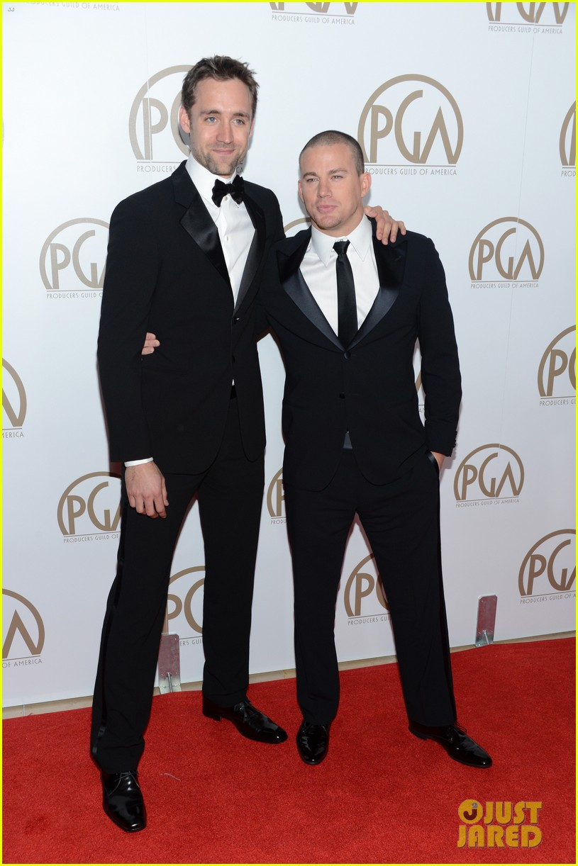 matt bomer channing tatum producers guild awards 04