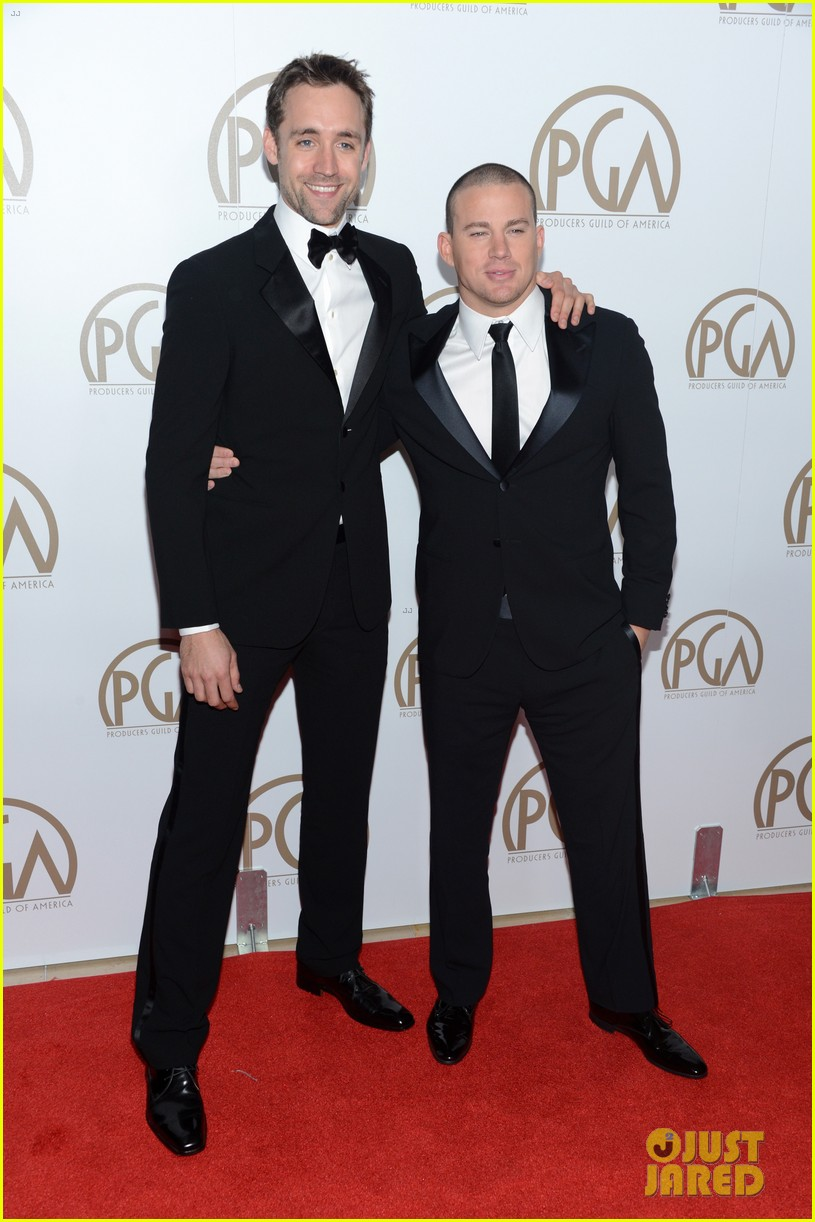 matt bomer channing tatum producers guild awards 08