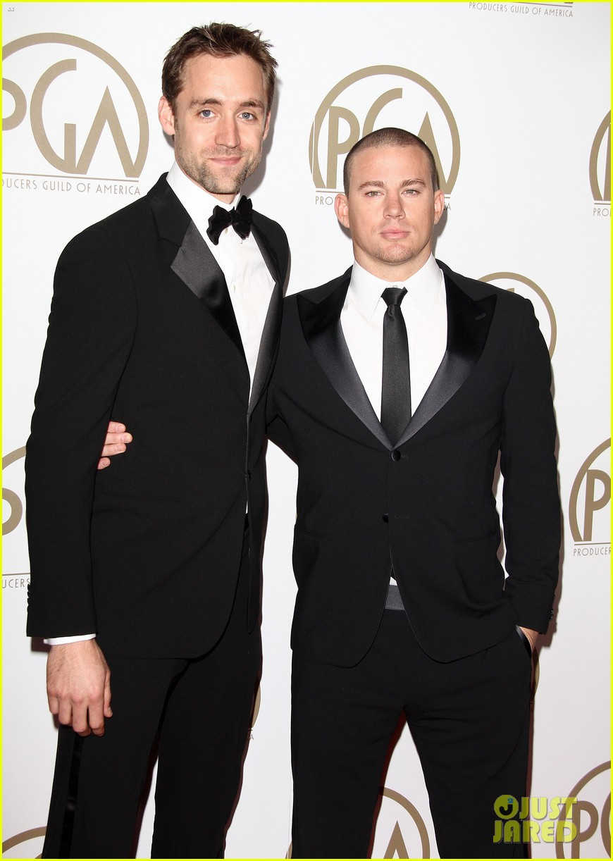 matt bomer channing tatum producers guild awards 112799189