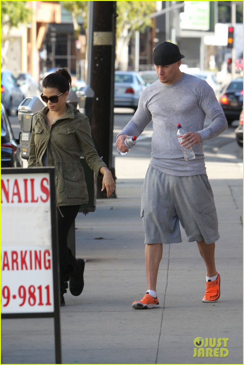 channing tatum jenna dewan workout couple 05