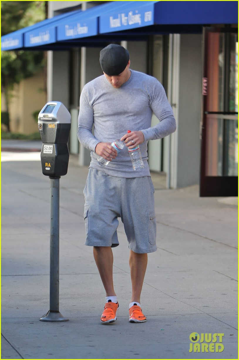 channing tatum jenna dewan workout couple 082800294