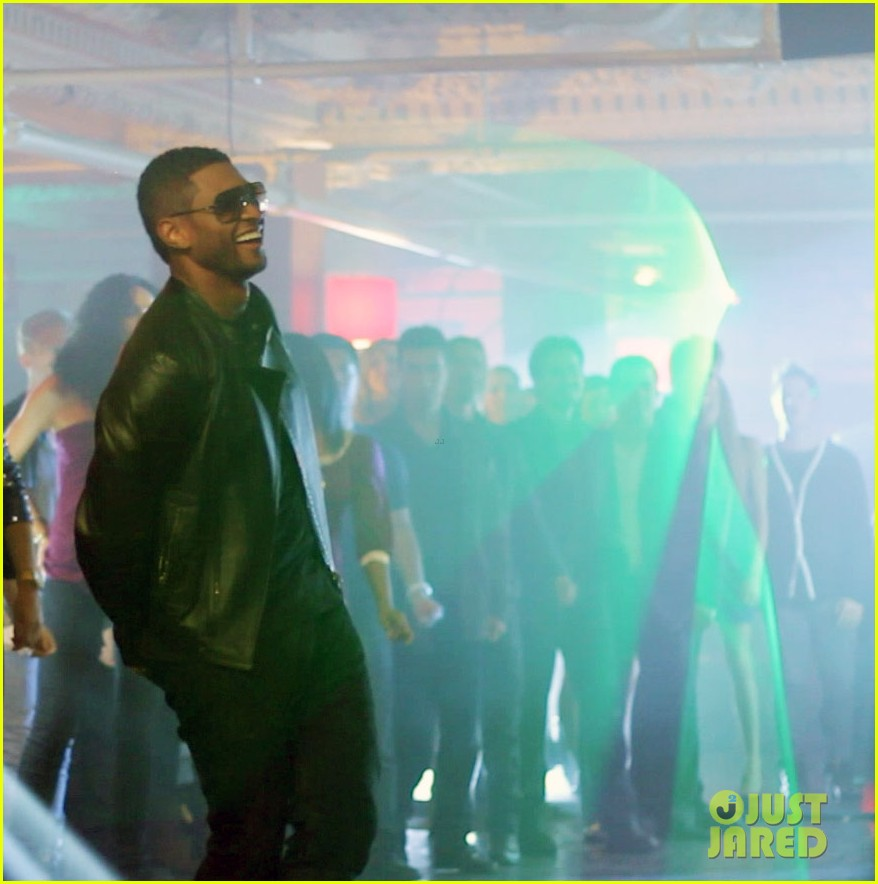 usher mercedes benz super bowl commercial exclusive pics 02