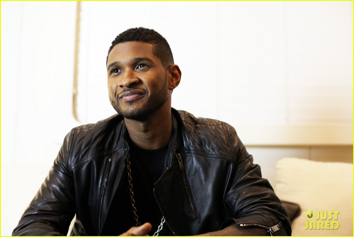 usher mercedes benz super bowl commercial exclusive pics 04
