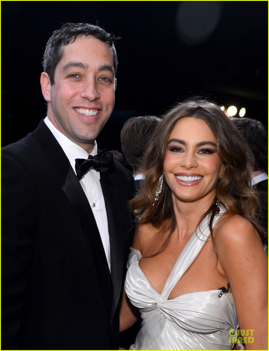 sofia vergara nick loeb sag awards 2013 red carpet 082799846