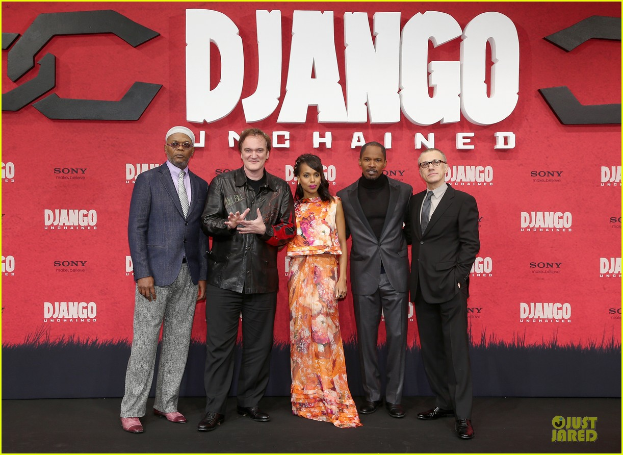 kerry washington & jamie foxx django unchained berlin premiere 01