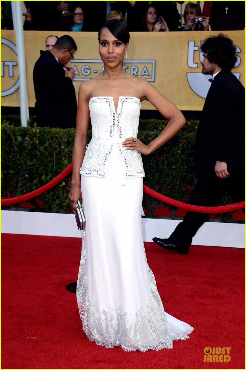 kerry washington sag awards 2013 red carpet 032799695