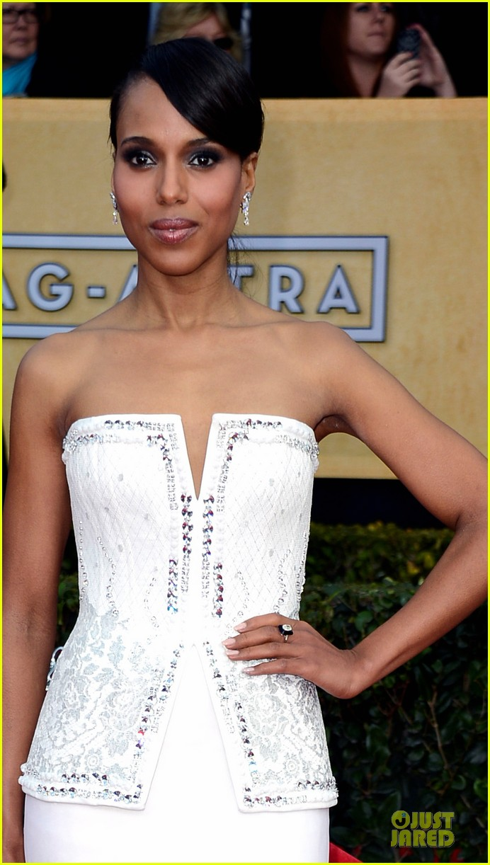 kerry washington sag awards 2013 red carpet 05