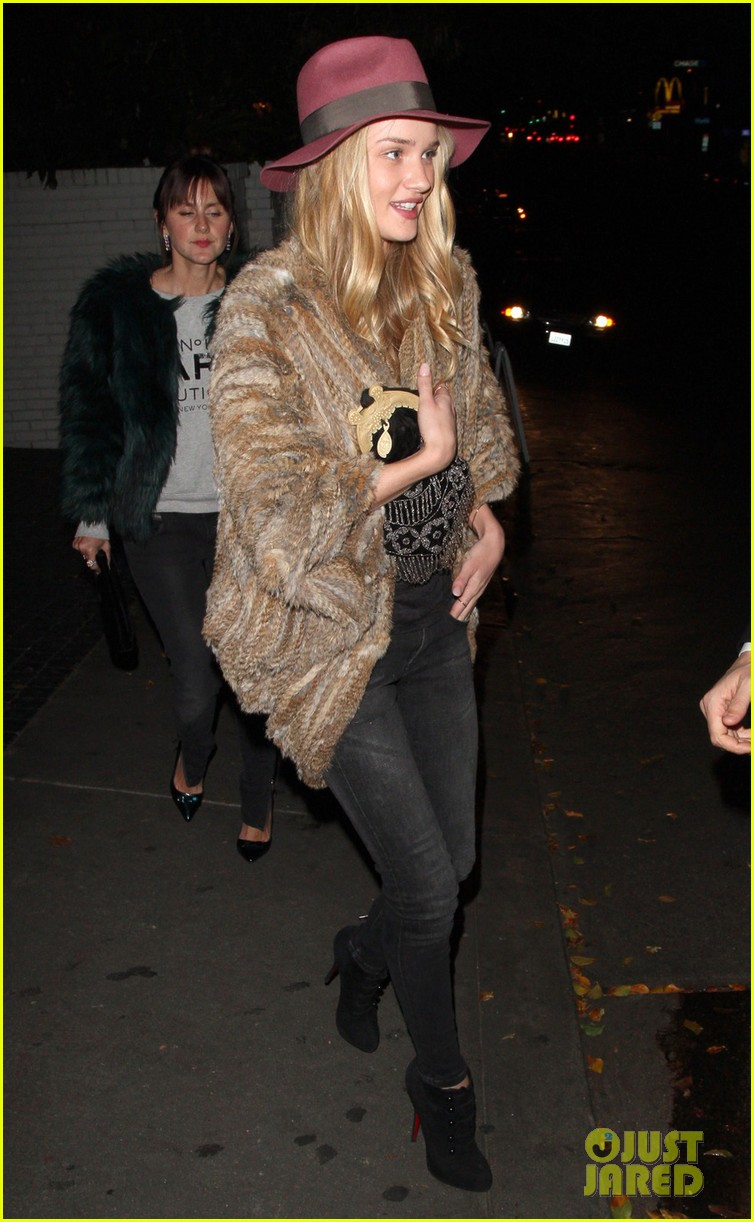 rosie huntington whiteley chateau marmont night out 03