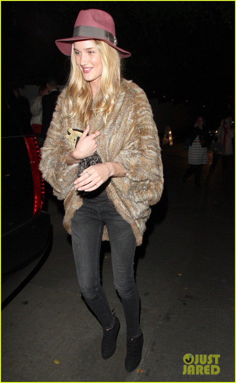 rosie huntington whiteley chateau marmont night out 092794120