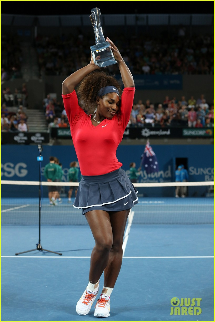 serena williams wins brisbane international tournament 01