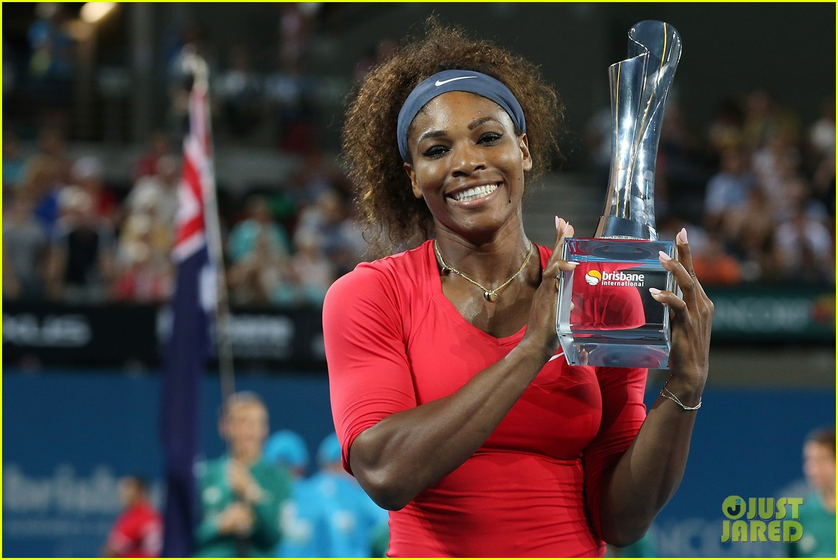 serena williams wins brisbane international tournament 12