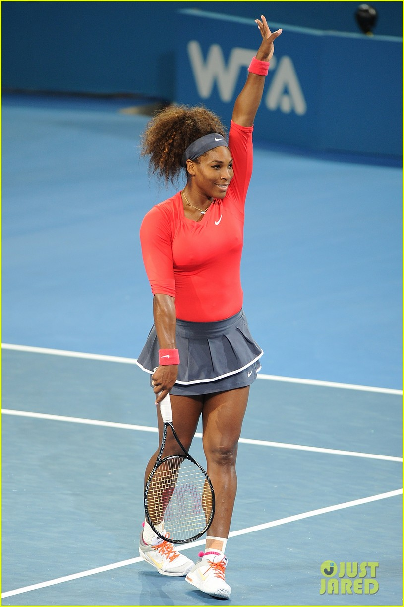 serena williams wins brisbane international tournament 13