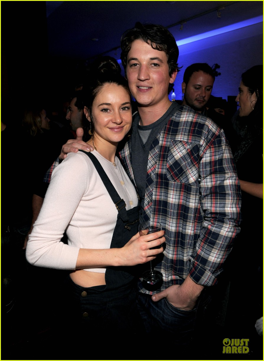 shailene woodley spectacular now sundance party 022794680