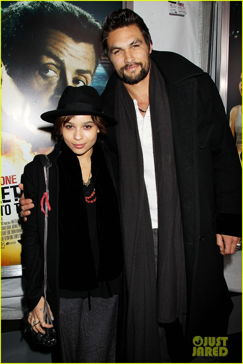 zoe kravitz jason momoa bullett to the head premiere 032801253