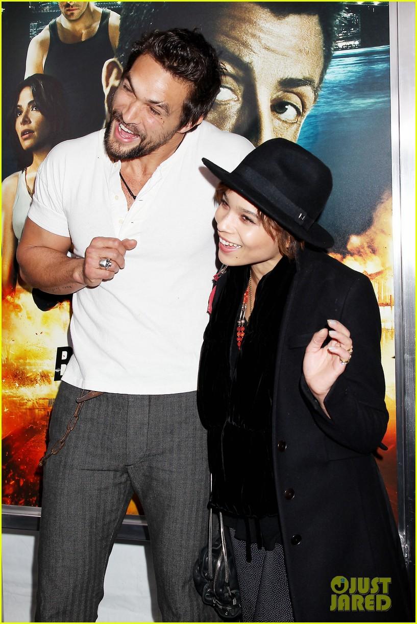 Zoe Kravitz On Jason Momoa: Full Sized Photo Of Zoe Kravitz Jason Momoa Bullett To The