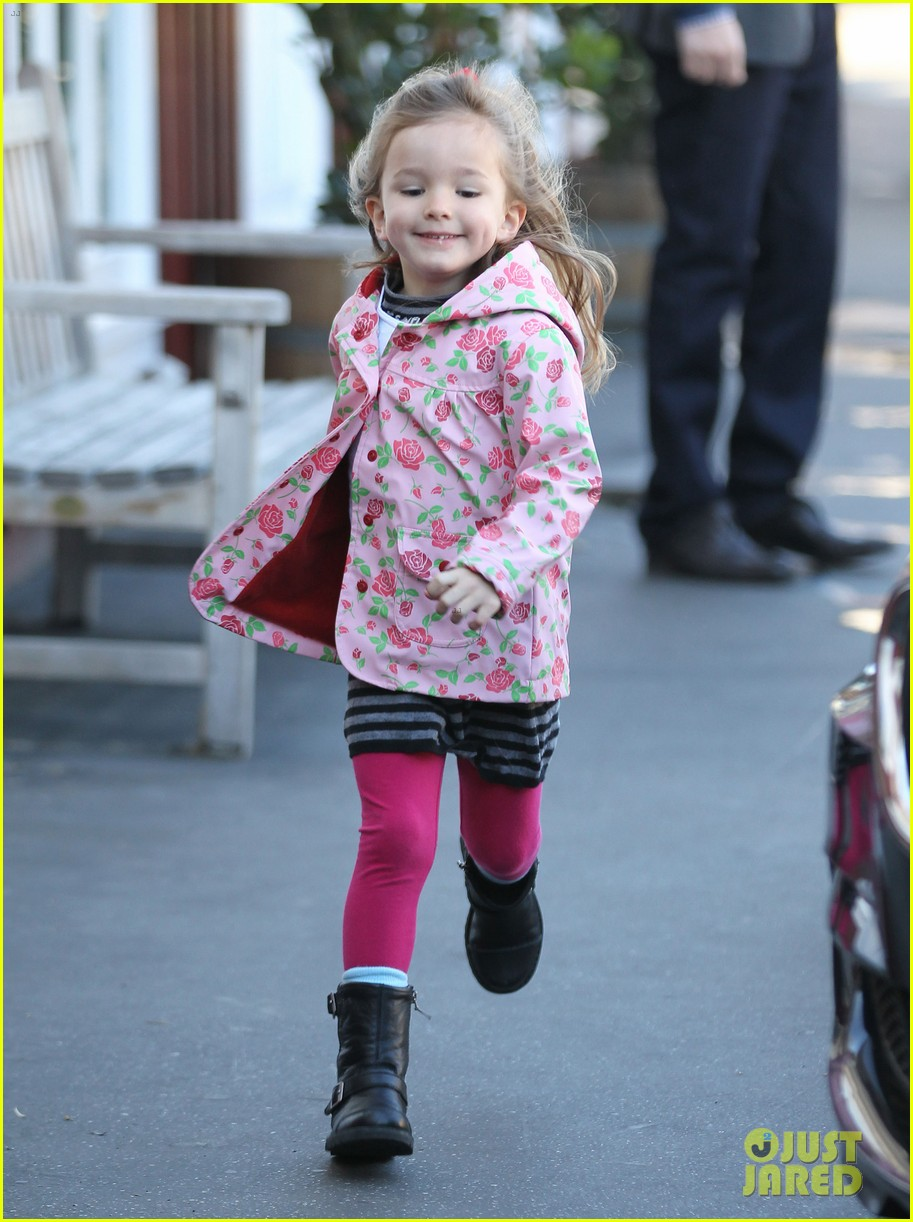 ben affleck jennifer garner breakfast with seraphina 02