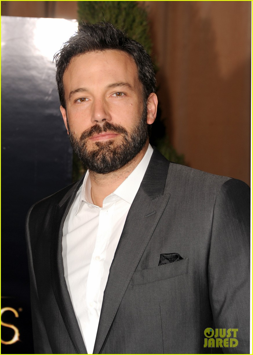 ben affleck oscar nominees luncheon 2013 02