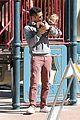 jessica alba cash warren oscars sunday at the park 14