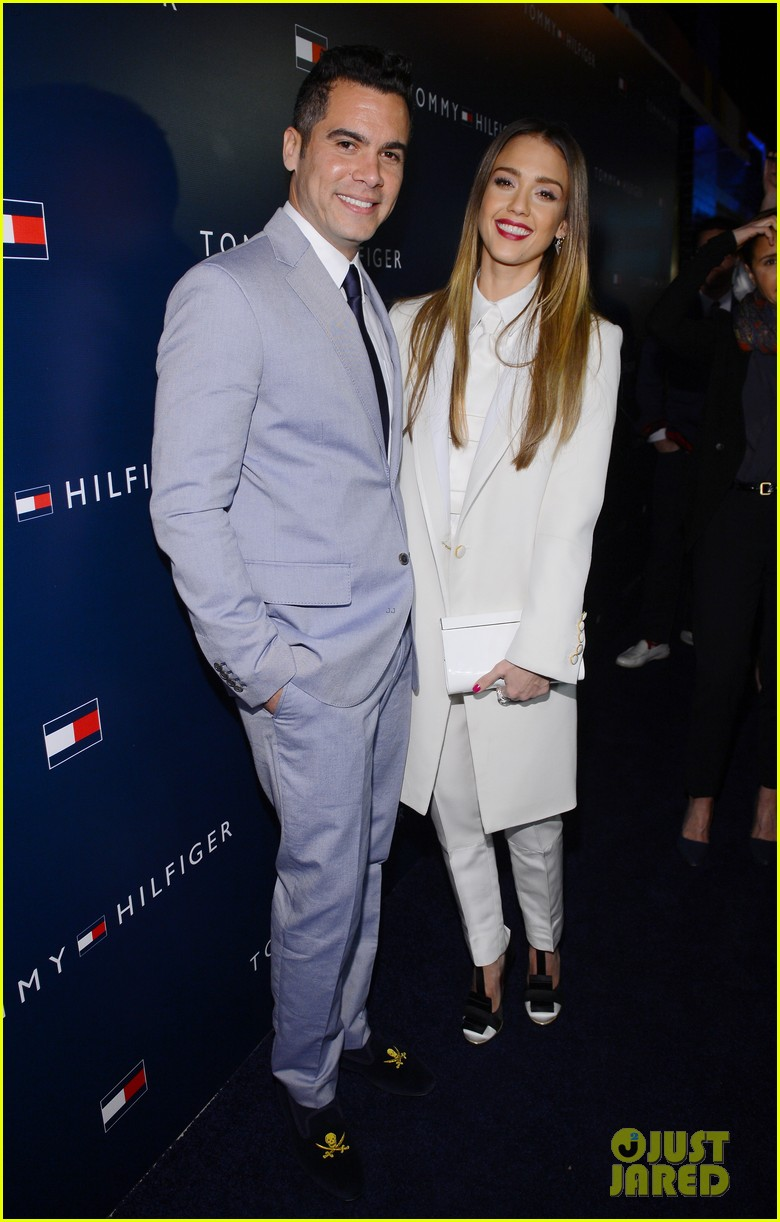 jessica alba drew barrymore tommy hilfiger store opening 05