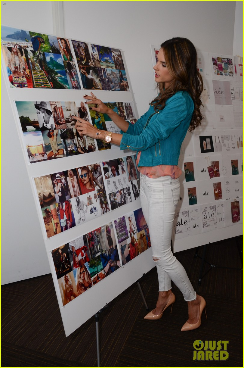 alessandra ambrosio works on ale by alessandra designs 12