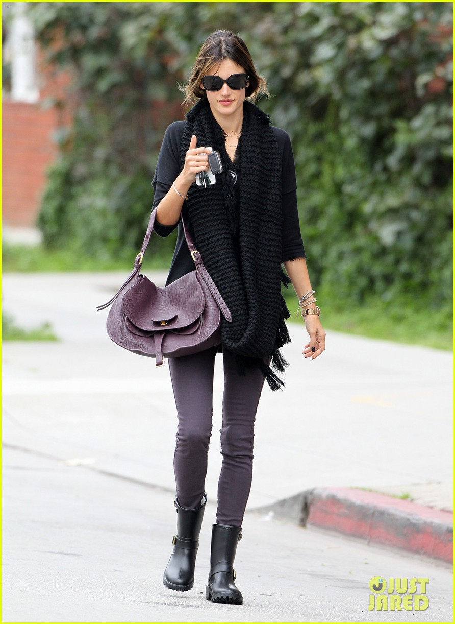 alessandra ambrosio park day with the family 26
