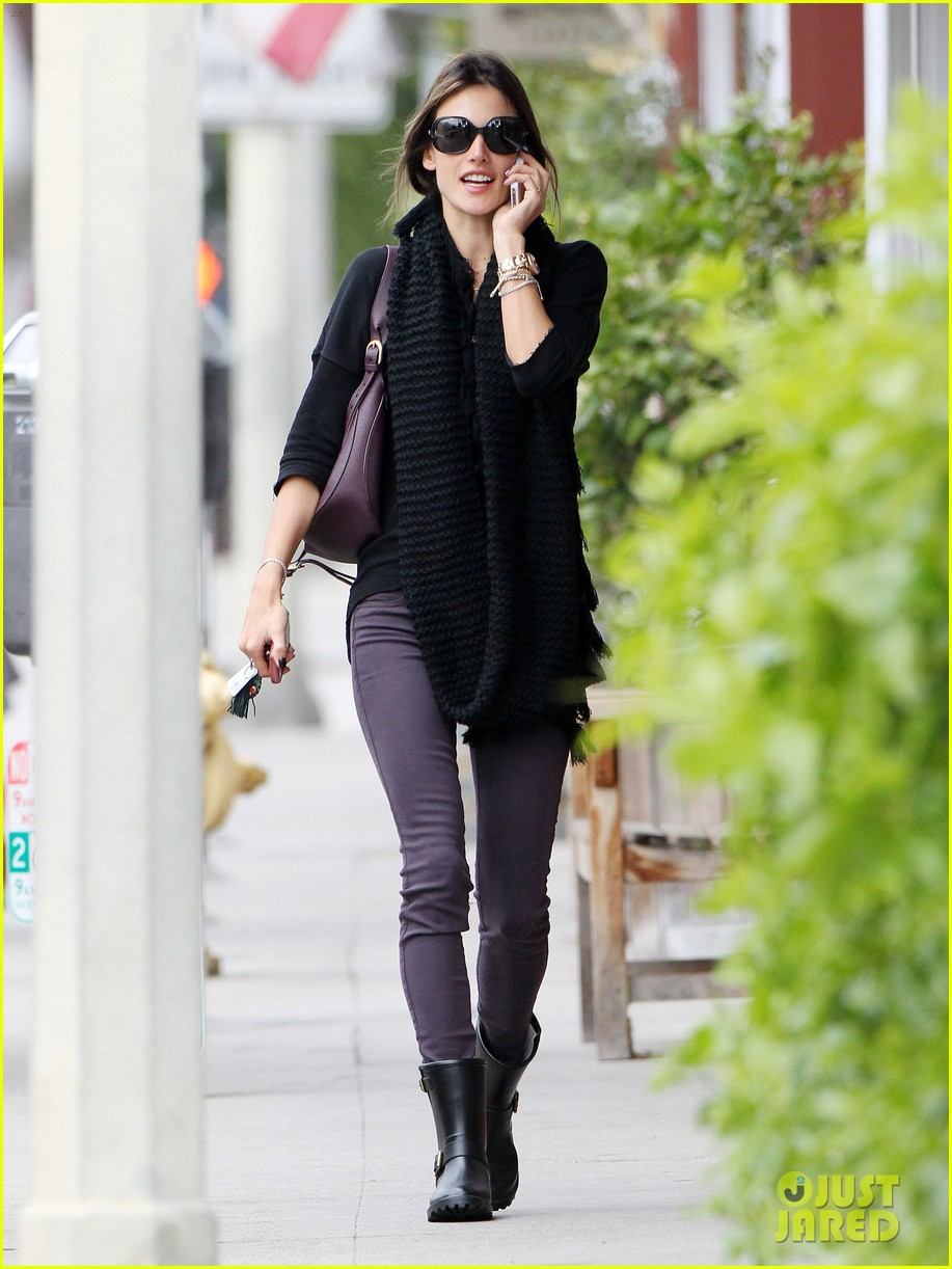 alessandra ambrosio park day with the family 31