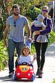 alessandra ambrosio park day with the family 11