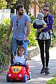 alessandra ambrosio park day with the family 14