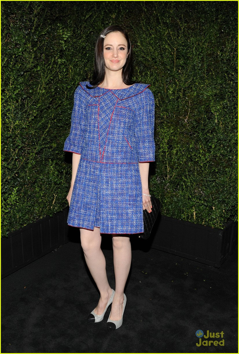 andrea riseborough emily mortimer chanel pre oscars dinner 2013 01