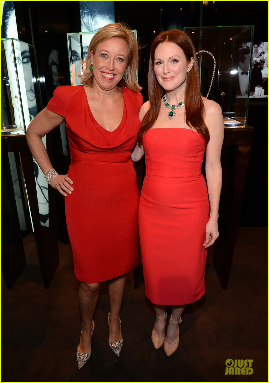 drew barrymore julianne moore elizabeth taylor bvlgari collection event 15