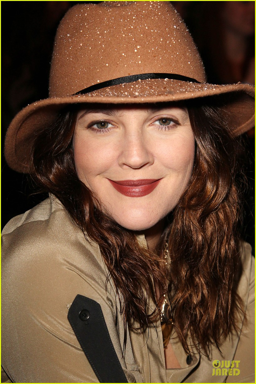 drew barrymore rag bone fashion show 232807584
