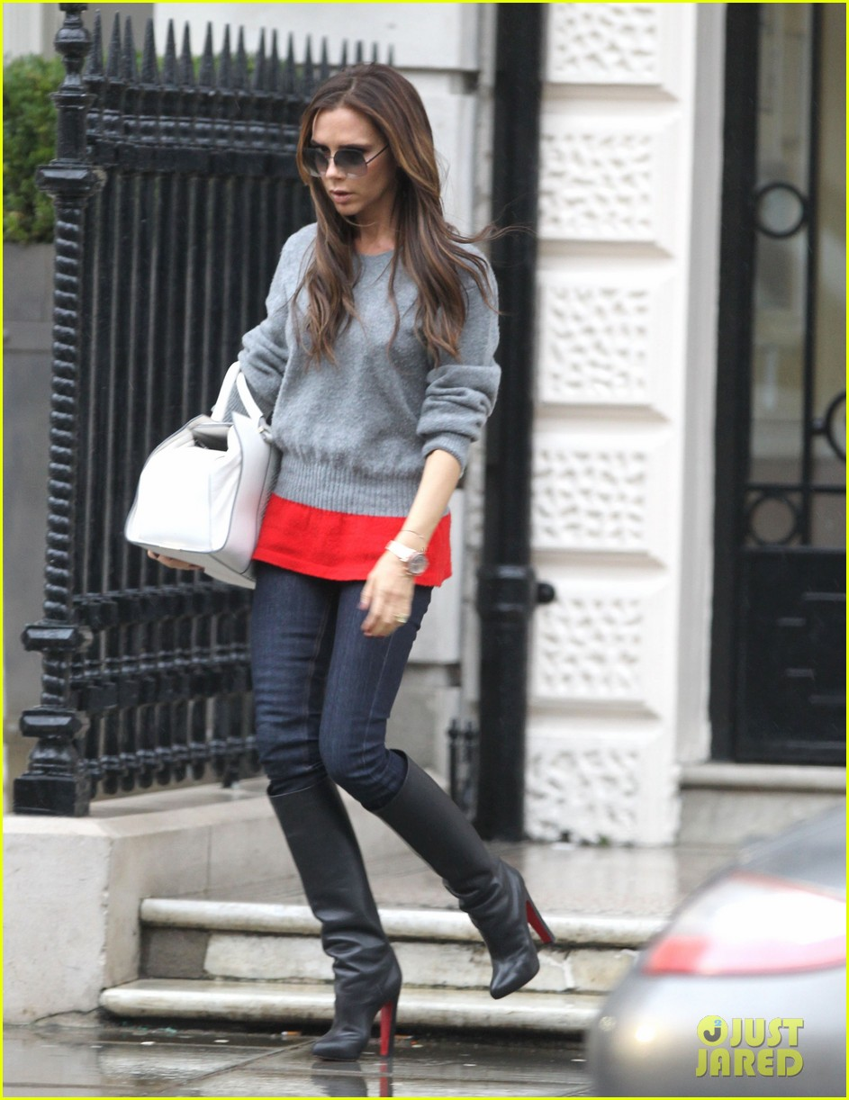 victoria david beckham separate london outings after psg announcement 01