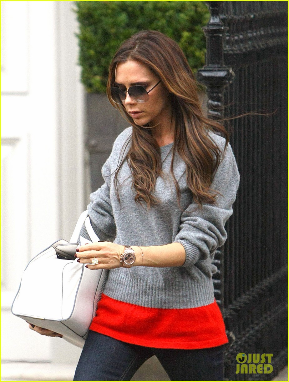 victoria david beckham separate london outings after psg announcement 03