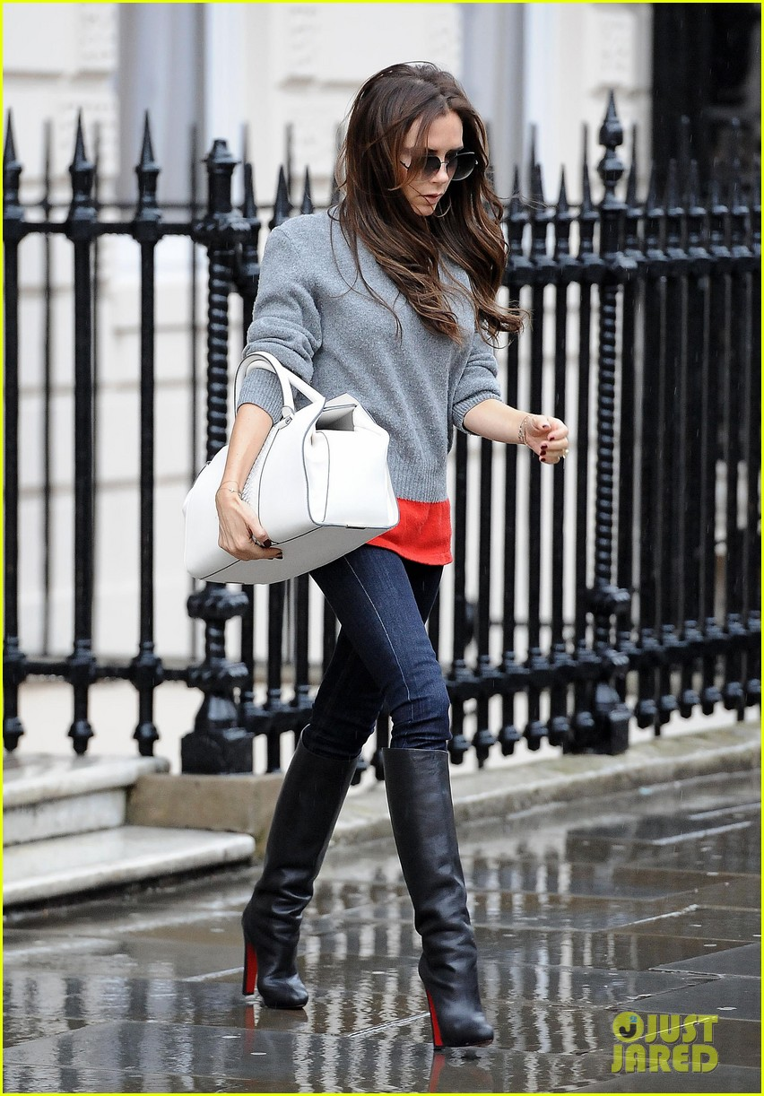 victoria david beckham separate london outings after psg announcement 05