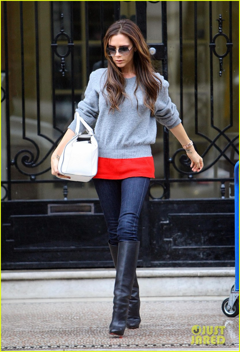 victoria david beckham separate london outings after psg announcement 132802561