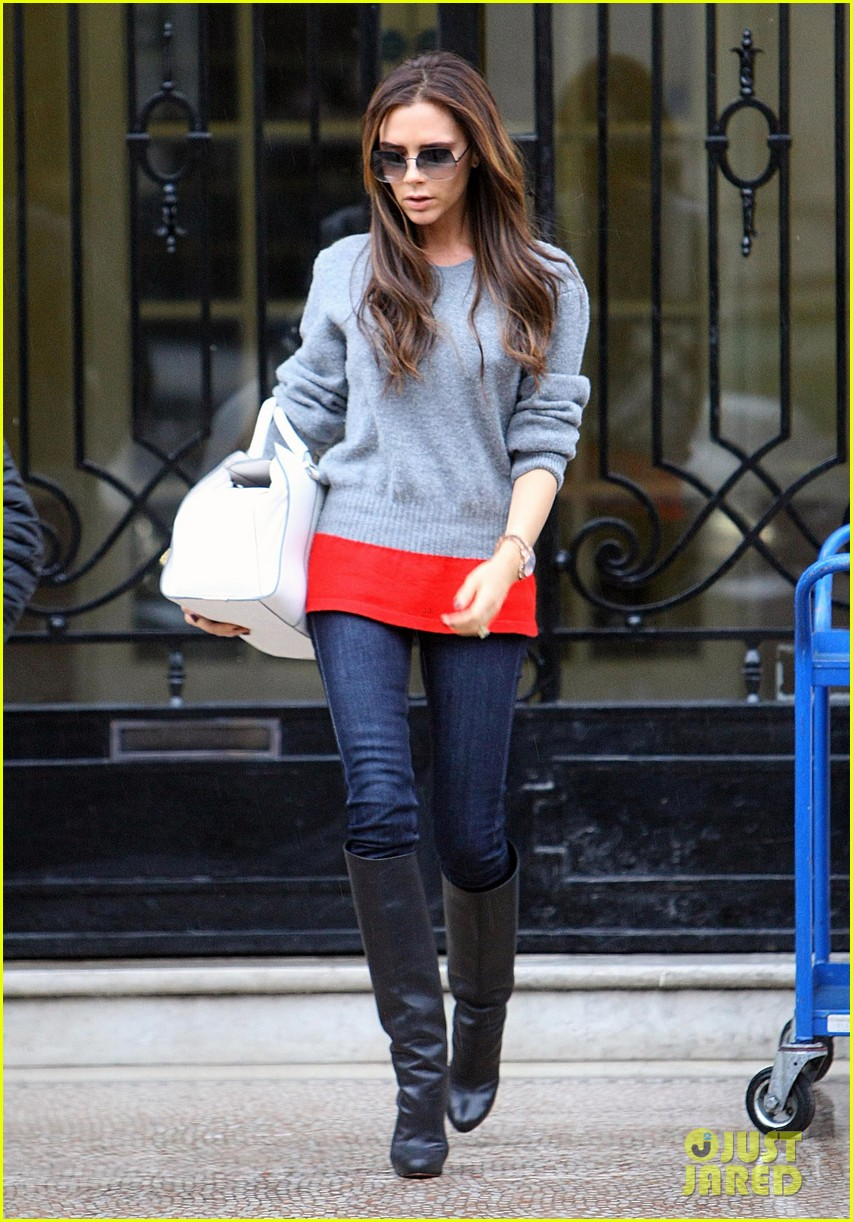 victoria david beckham separate london outings after psg announcement 14