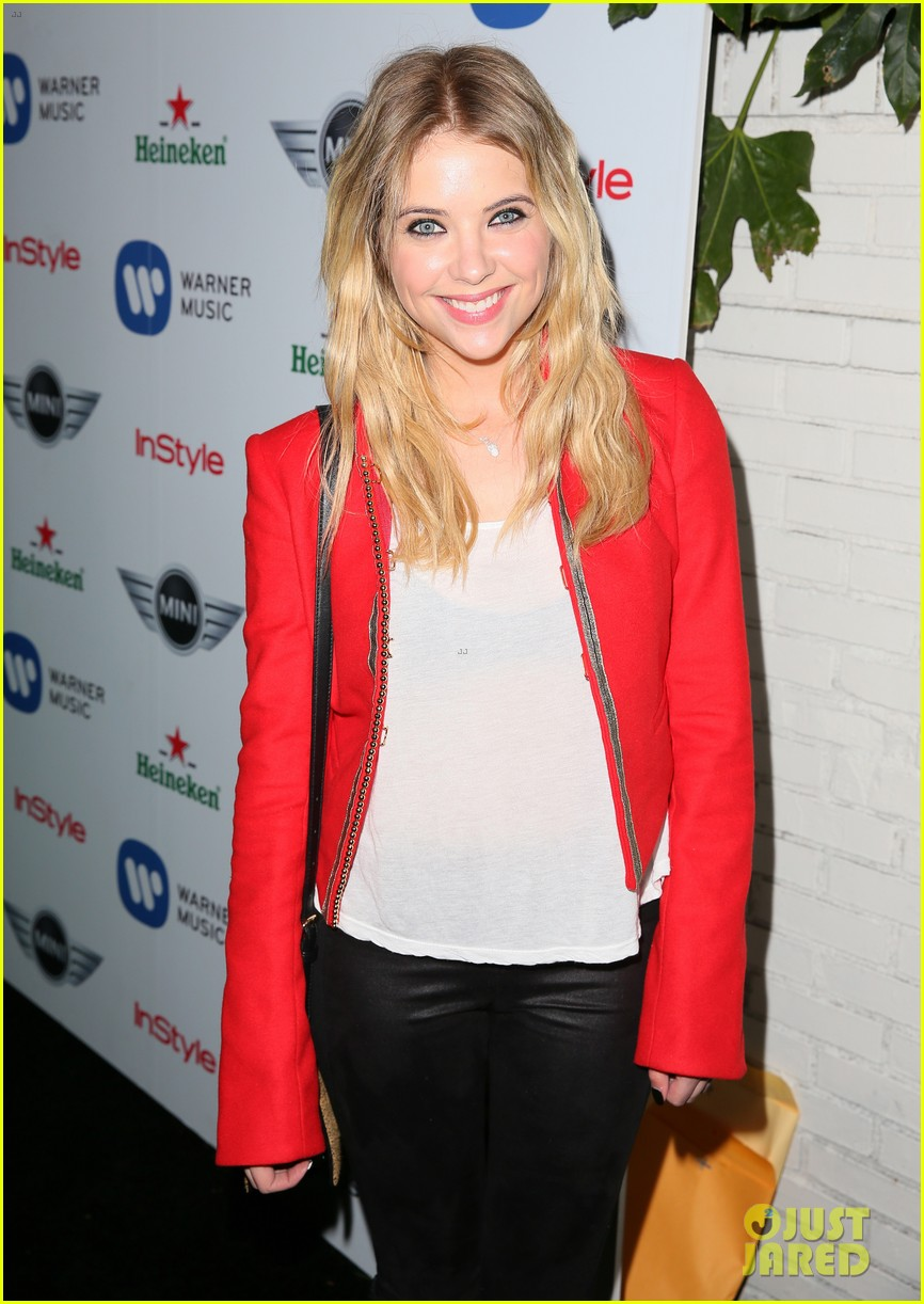 ashley benson warner music group grammy after party 05