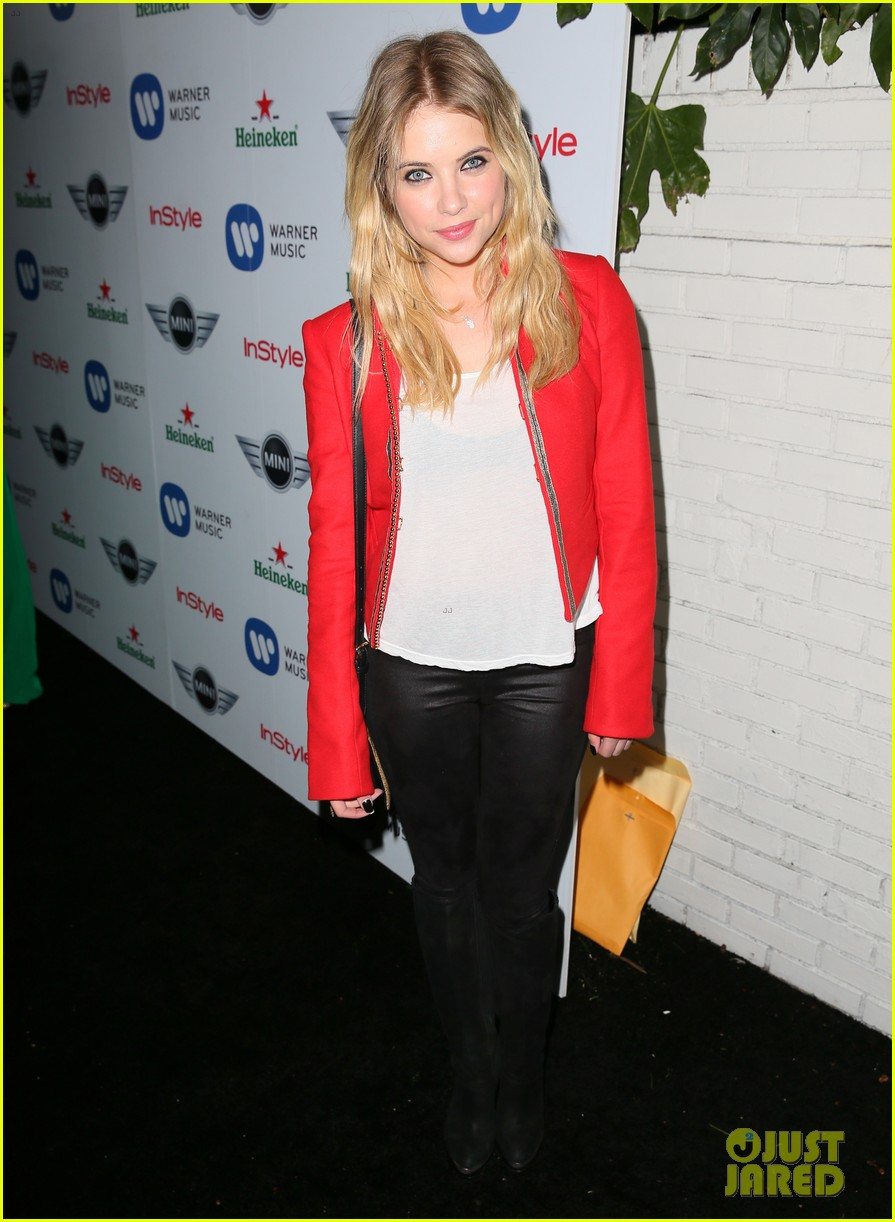ashley benson warner music group grammy after party 16