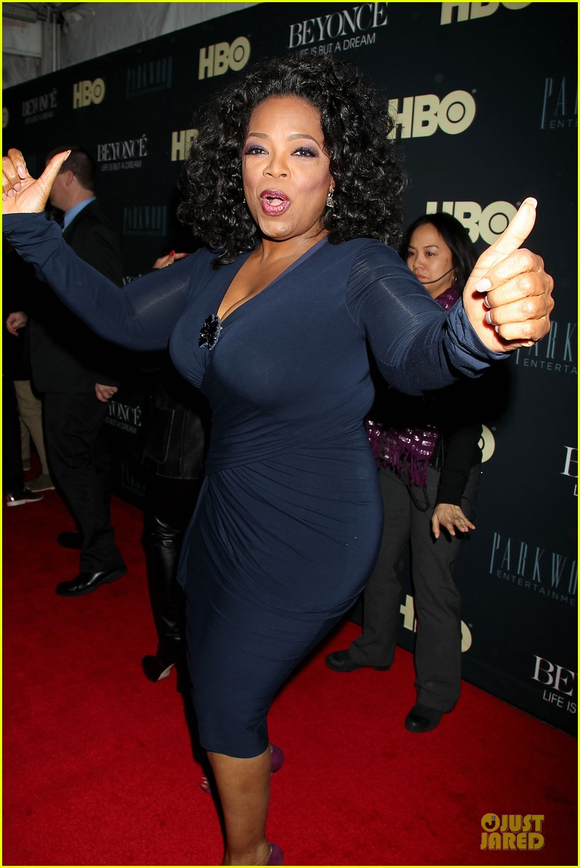 beyonce oprah winfrey life is but a dream ny premiere 042810909