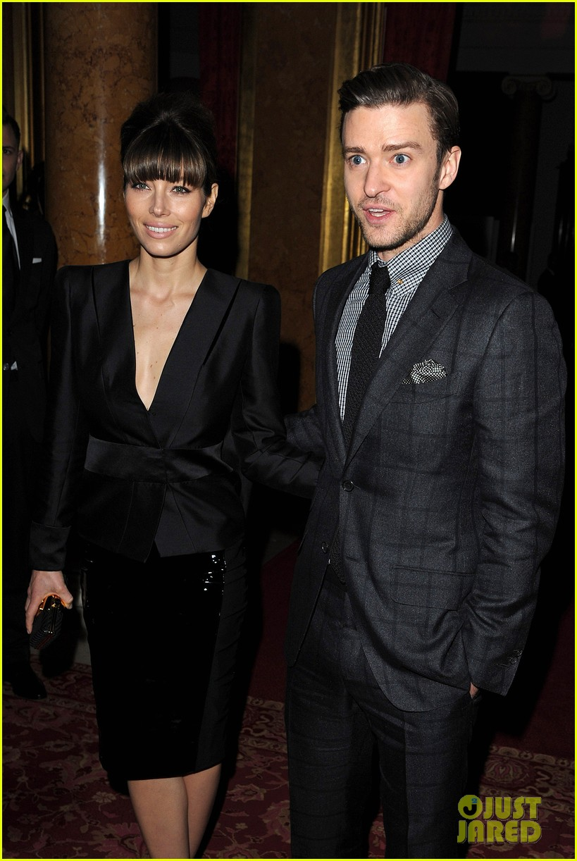 jessica biel justin timberlake tom ford fashion show 052814560
