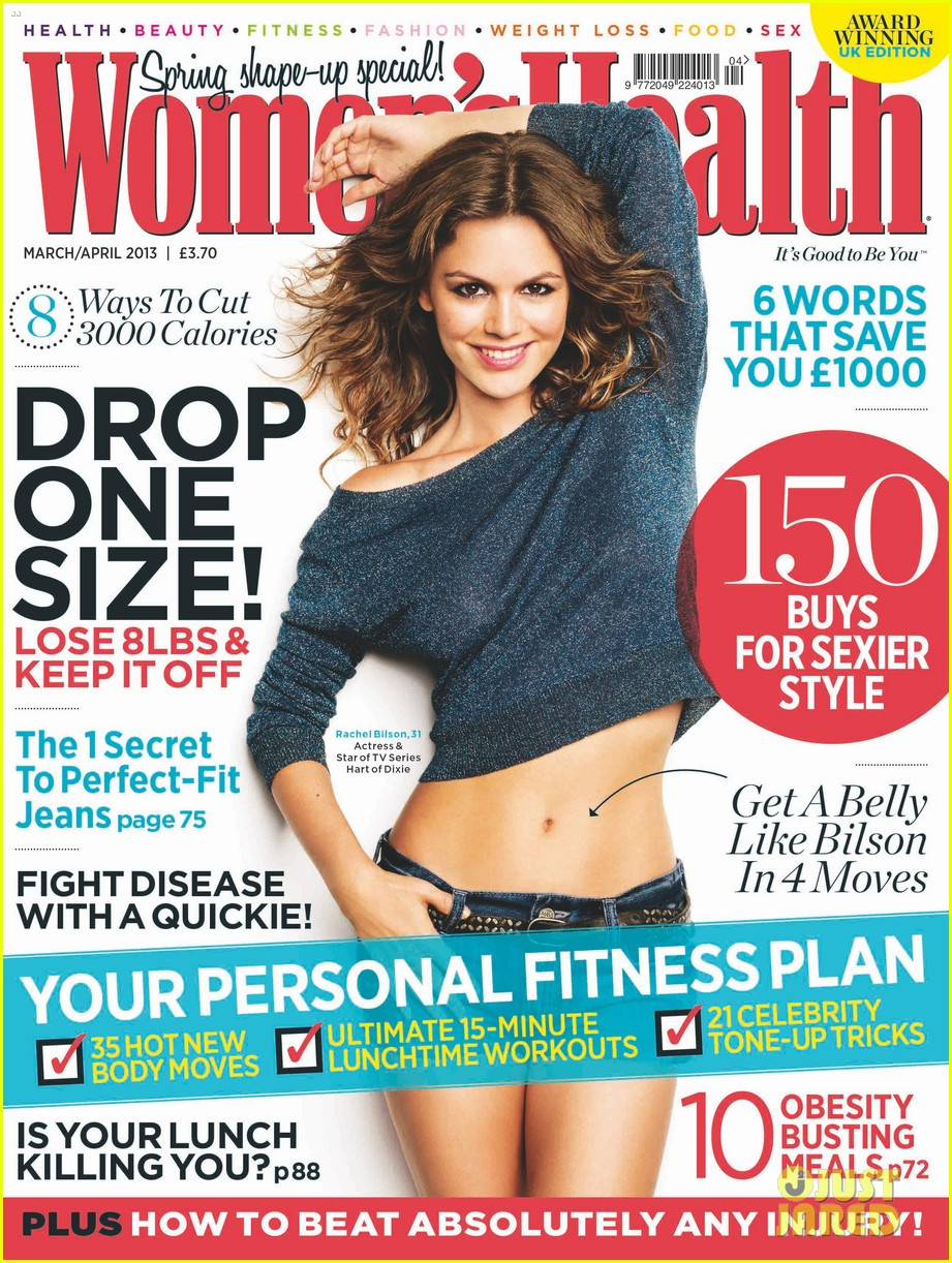 rachel bilson covers womens health uk march 2013 01