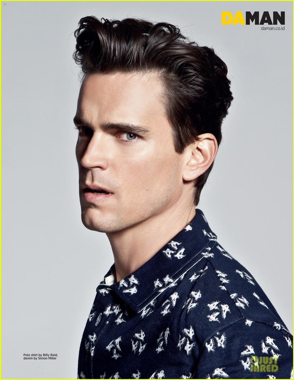 Matt Bomer Man Magazine Fashion Feature