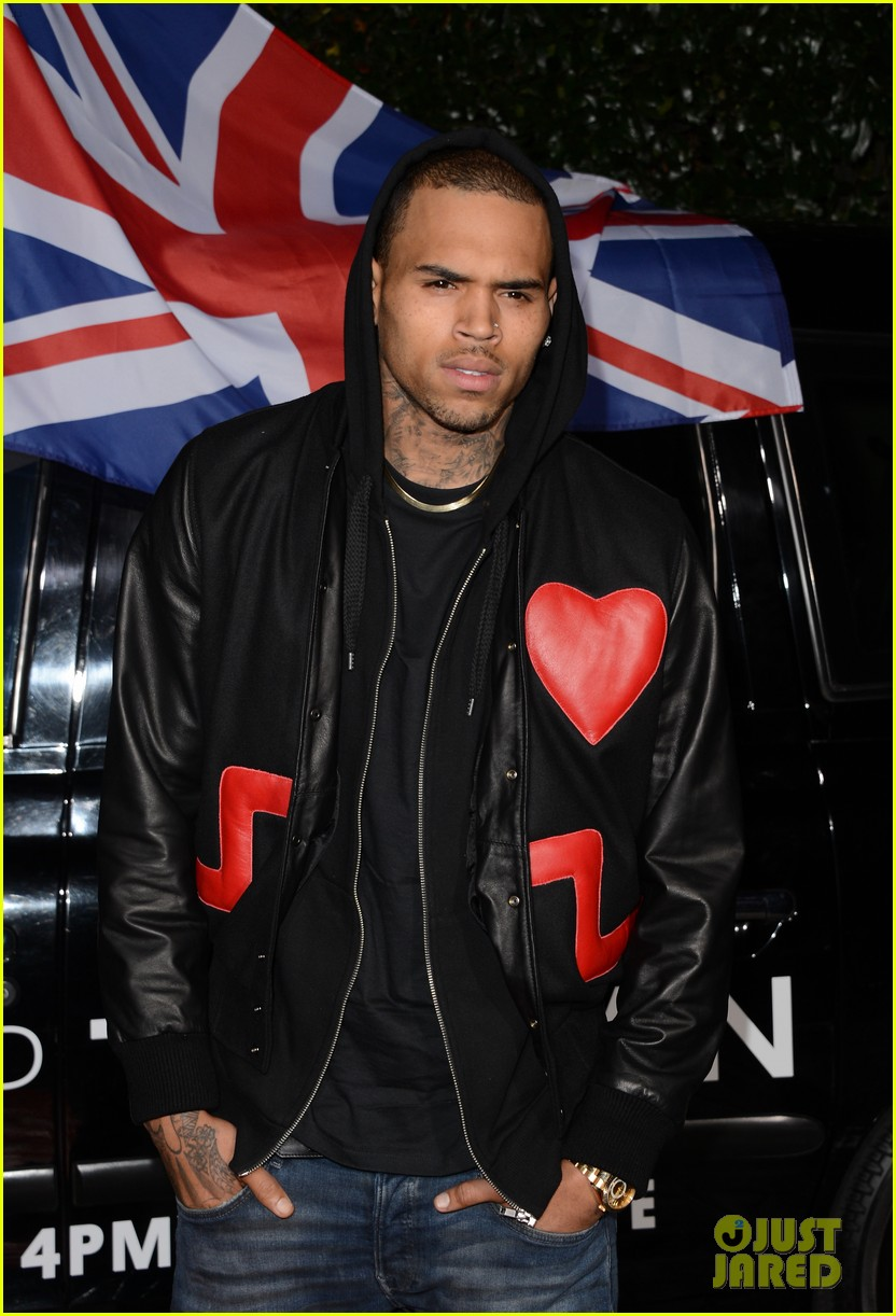 chris brown solange knowles topshop topman la opening party 012811912