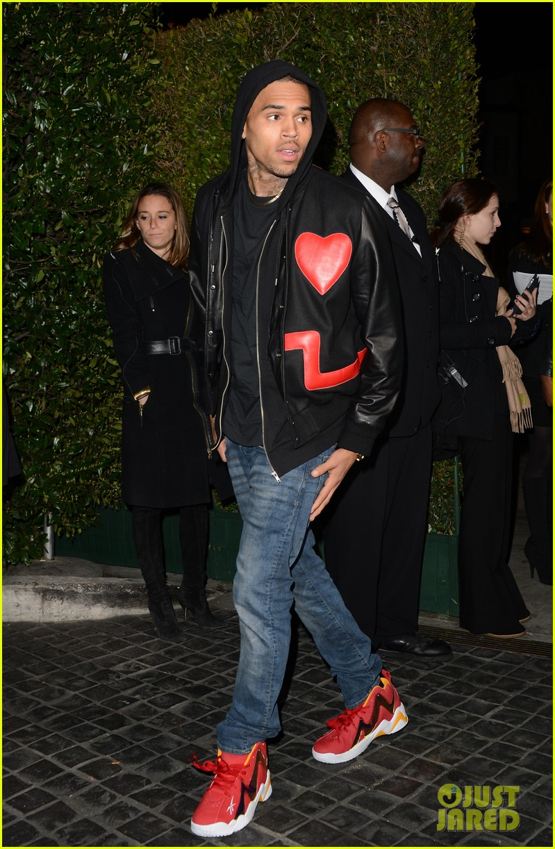 chris brown solange knowles topshop topman la opening party 032811914