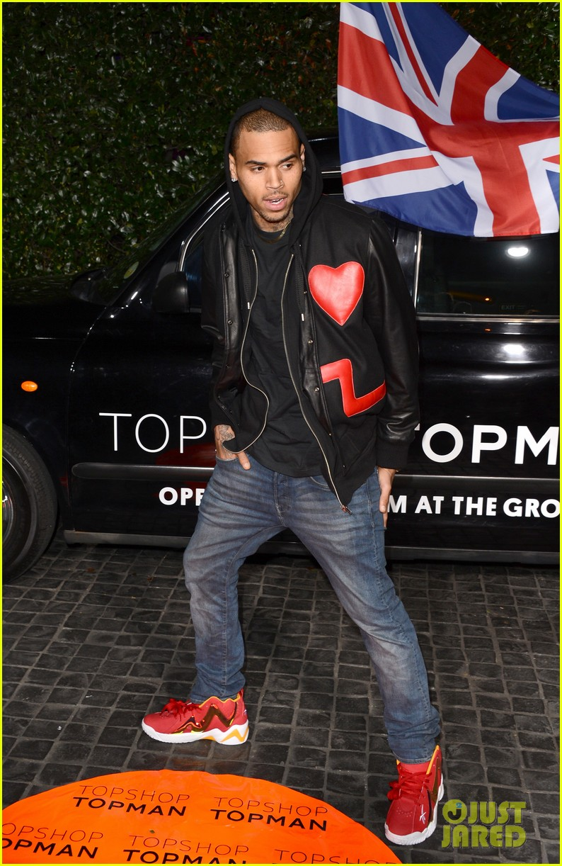 chris brown solange knowles topshop topman la opening party 13