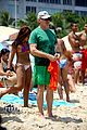 Photo 52 of Calista Flockhart: Bikini Beach Day with Harrison Ford & Liam!