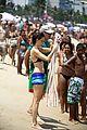 calista flockhart bikini beach day with harrison ford 27