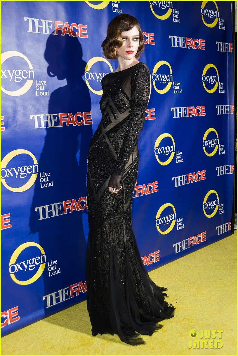 naomi campbell coco rocha the face premiere 11