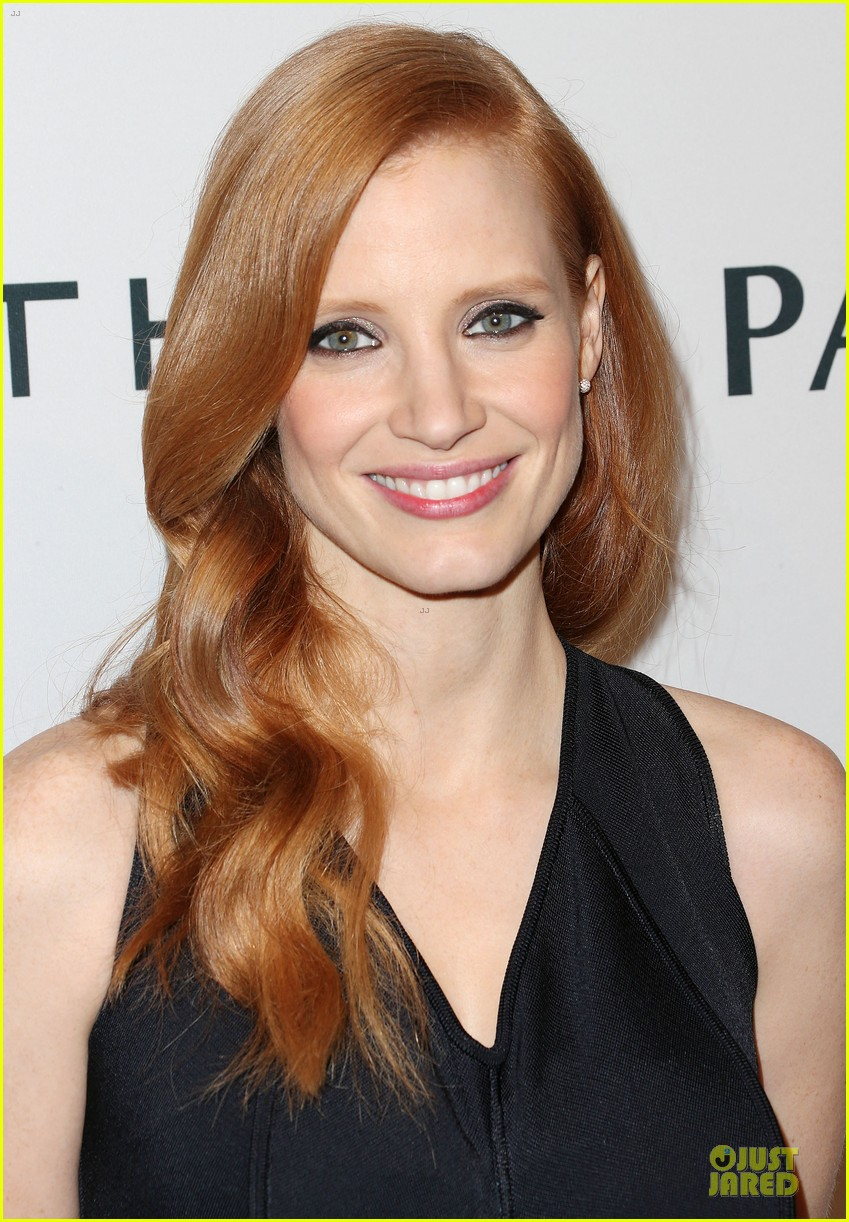 jessica chastain hugh jackman tonight show with jay leno guests 04